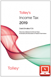 TolleyLibrary Light Tolley's Income Tax 2019 and Print cover