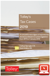 TolleyLibrary Light Tolley's Tax Cases 2019 and Print cover