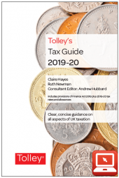 TolleyLibrary Light Tolley's Tax Guide 2019 and Print cover
