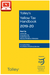 TolleyLibrary Light Yellow Tax Handbook 2019 and Print cover