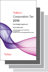 Tolley's Tax Annuals Set 2019-2020 (Main Works and Supplements) cover