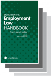 Butterworths Employment Law Handbook 27th edition & Tolley's Employment Law Handbook 33rd edition Set cover