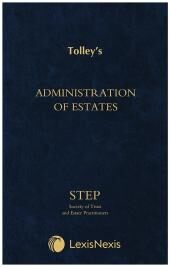 Administration of Estates cover