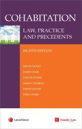 Cohabitation: Law, Practice and Precedents Eighth edition & CD cover