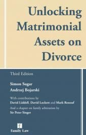 Unlocking Matrimonial Assets on Divorce Third edition cover