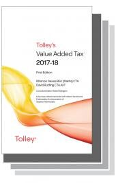 Tolley's Value Added Tax 2017 Set cover