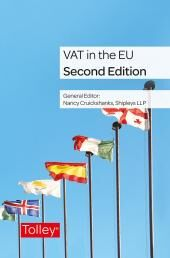VAT in the EU Second edition cover
