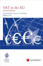 VAT in the European Union Second edition cover