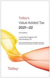 Tolley's Value Added Tax 2021-22 (includes First and Second editions) cover