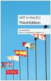 VAT in the EU Third edition cover