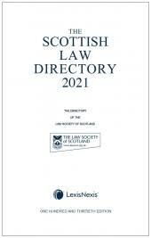 The Scottish Law Directory: The White Book 2021 130th edition cover