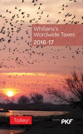 Whillans's Worldwide Taxes 2016-17 cover