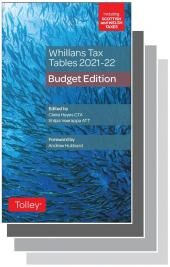 Whillans Tax Tables 2021-22 Set (Budget edition & Finance Act edition) cover