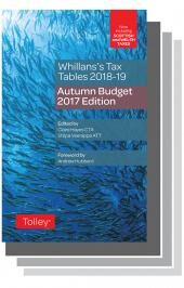 Whillans's Tax Tables 2018-19 Set (Budget edition & Finance Act edition) cover