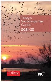 Tolley's Worldwide Tax Guide 2021-22 cover