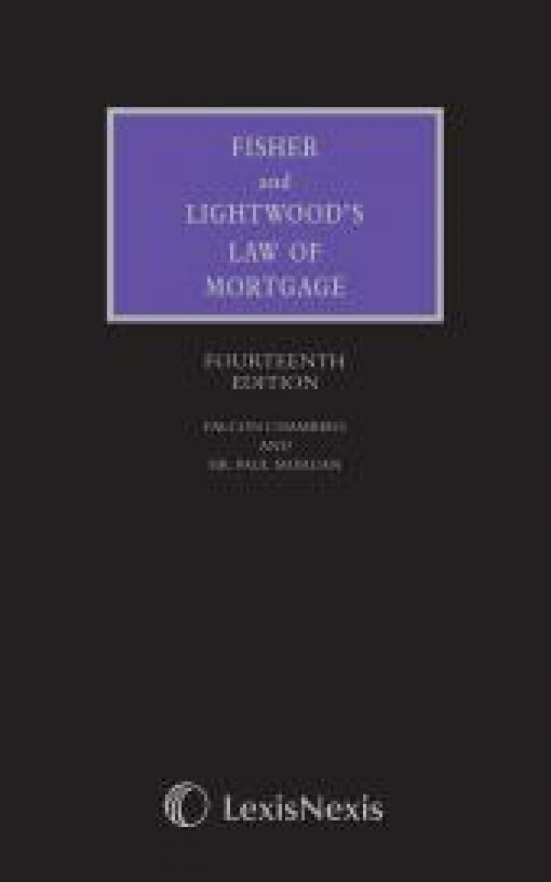 Fisher and lightwoods law of mortgage 14th edition lexisnexis uk fisher and lightwoods law of mortgage 14th edition fandeluxe Gallery