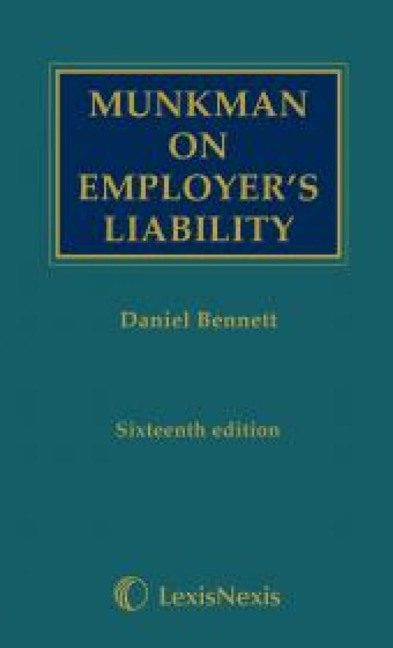 Munkman on employers liability 16th edition lexisnexis uk munkman on employers liability 16th edition fandeluxe Image collections