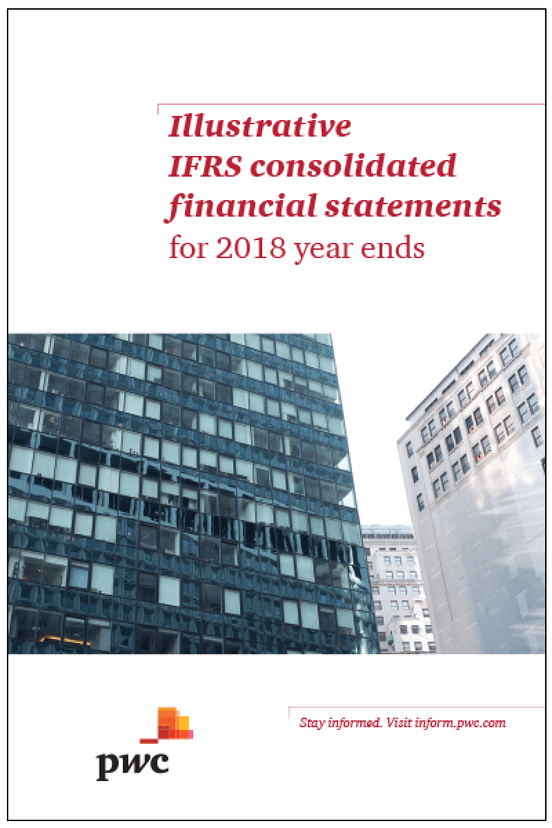 IFRS for the UK Illustrative Financial Statements for 2018